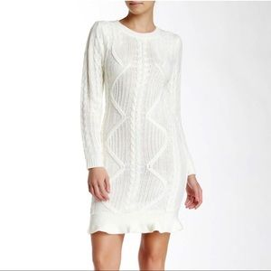 TART Collection Off White Sweater Dress